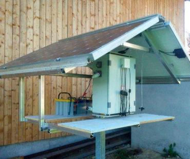 Solar-Basisstation